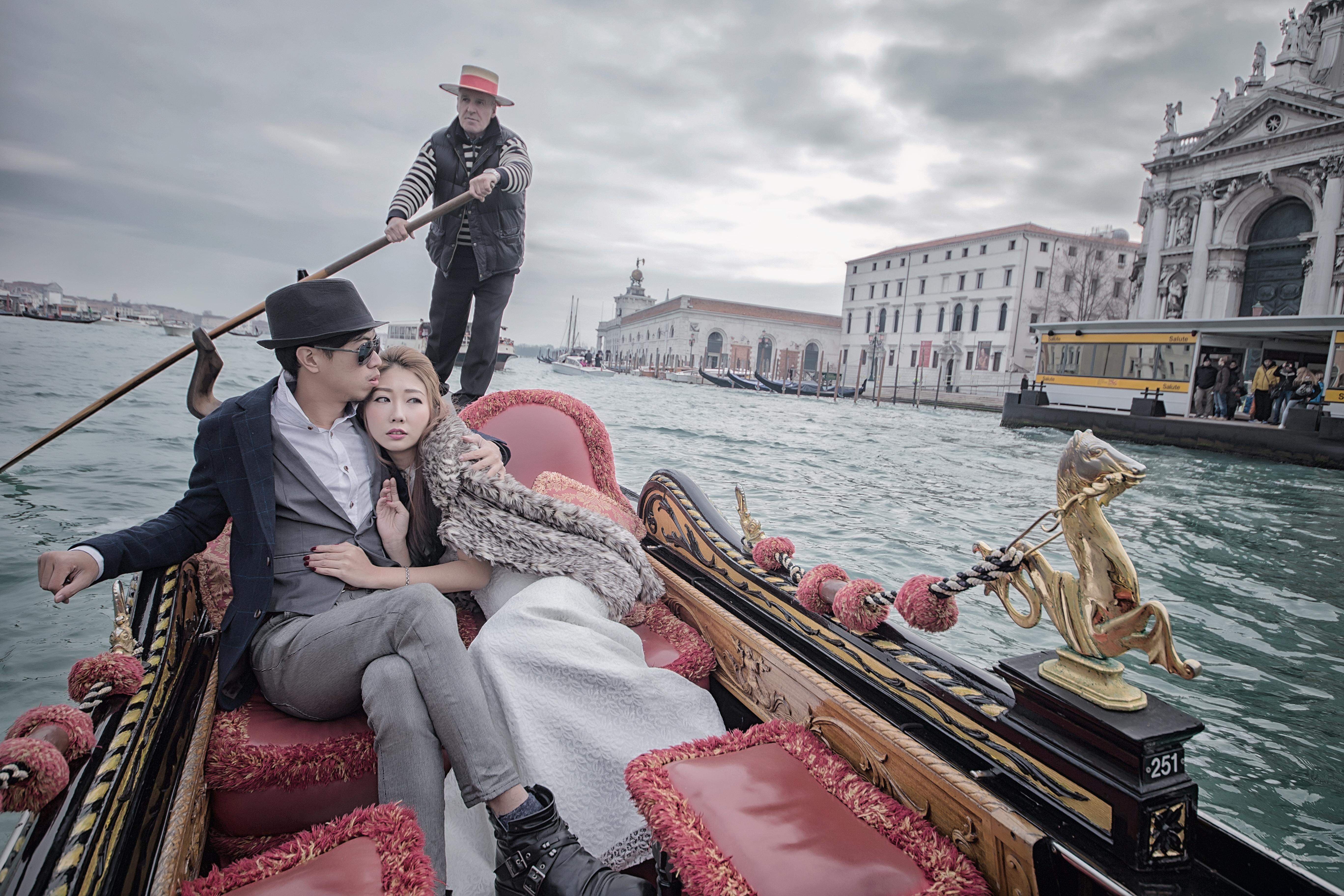 自助婚紗、自主婚紗、威尼斯