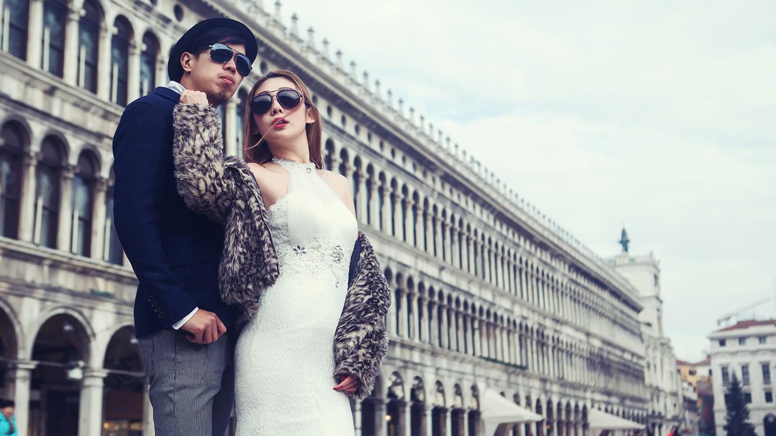海外婚紗,自主婚紗,威尼斯,義大利,米蘭,羅馬